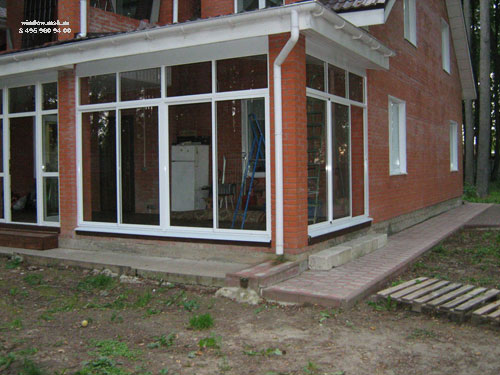 Остекление балконов и лоджий раздвижная система krauss..